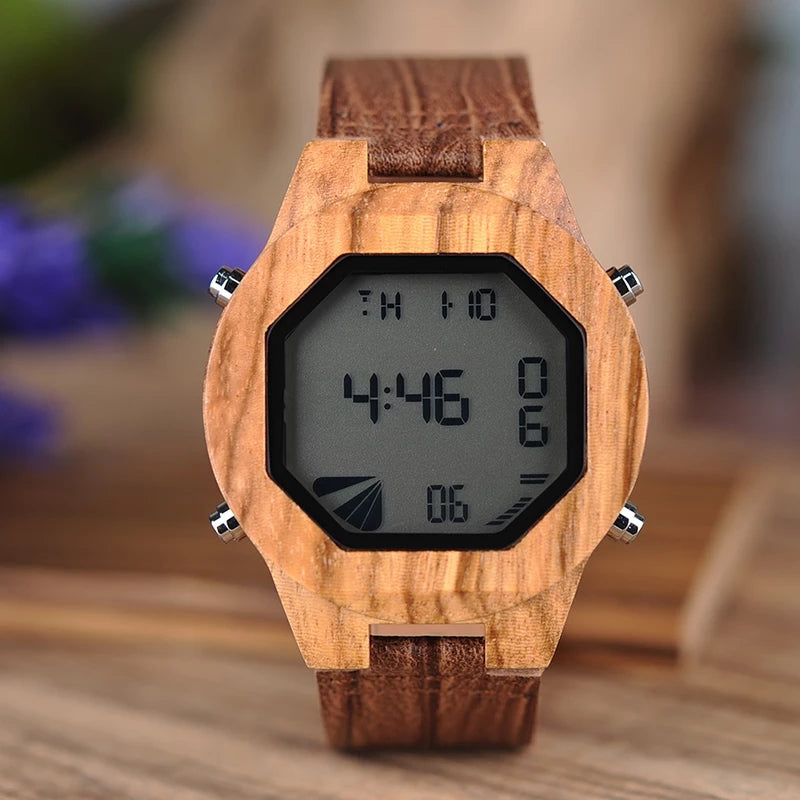 Morado - Woodtree Watches Personalised Wooden Watch