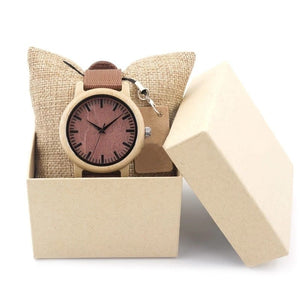 Walnut - Woodtree Watches Personalised Wooden Watch