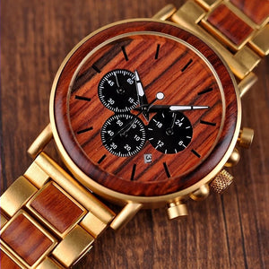 Buckeye - Woodtree Watches Personalised Wooden Watch