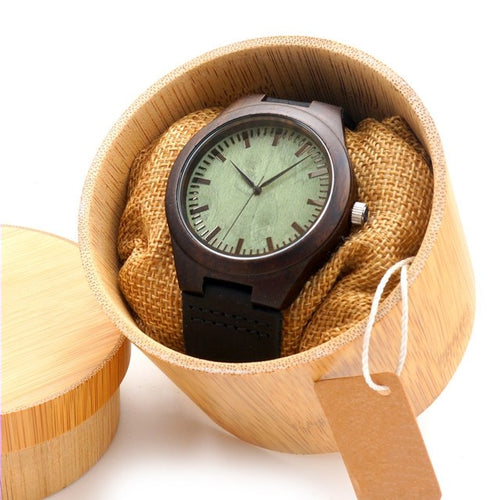 Pistachio - Woodtree Watches Personalised Wooden Watch