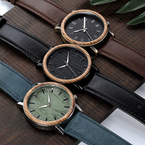 Meranti - Woodtree Watches Personalised Wooden Watch