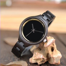 Black Locust - Woodtree Watches Personalised Wooden Watch