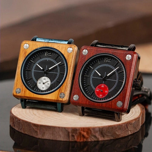 Tipu - Woodtree Watches Personalised Wooden Watch