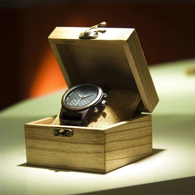 Salix - Woodtree Watches Personalised Wooden Watch