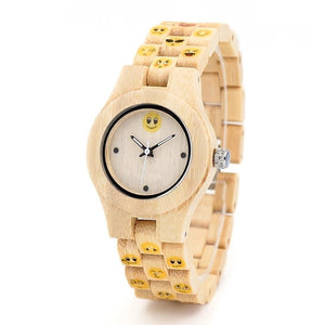 Larch - Woodtree Watches Personalised Wooden Watch