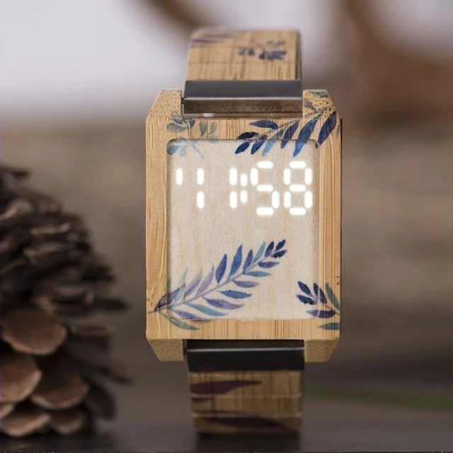 Buckthorn - Woodtree Watches Personalised Wooden Watch