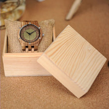 Tulip - Woodtree Watches Personalised Wooden Watch