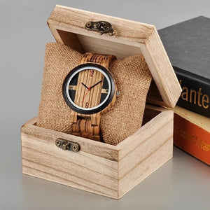 Pepper - Woodtree Watches Personalised Wooden Watch