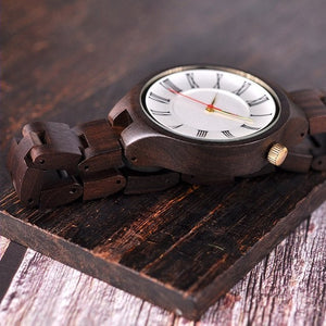 Plane - Woodtree Watches Personalised Wooden Watch