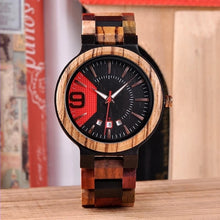Padauk - Woodtree Watches Personalised Wooden Watch
