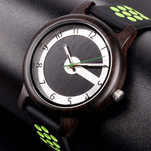 Avocado - Woodtree Watches Personalised Wooden Watch