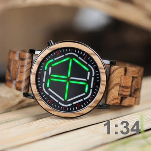 Mahoe - Woodtree Watches Personalised Wooden Watch
