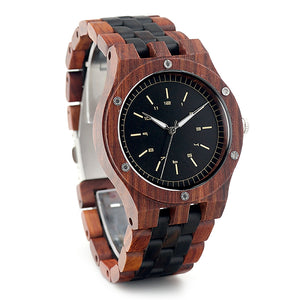 Agar - Woodtree Watches Personalised Wooden Watch
