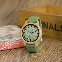 Mossy Birch - Woodtree Watches Personalised Wooden Watch