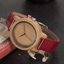 Cherry - Woodtree Watches Personalised Wooden Watch