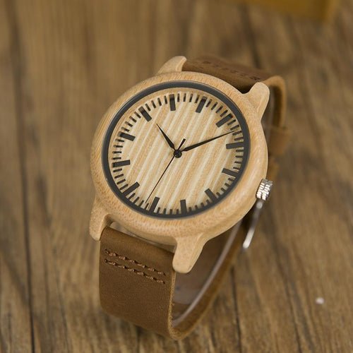 Chestnut - Woodtree Watches Personalised Wooden Watch