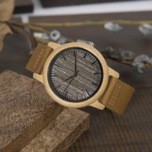 Ash - Woodtree Watches Personalised Wooden Watch