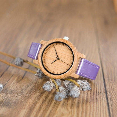 Wisteria - Woodtree Watches Personalised Wooden Watch