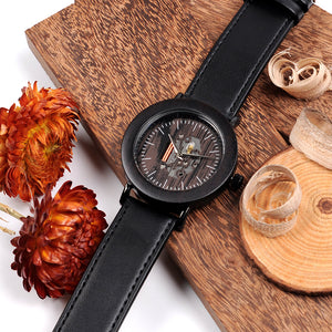 Hemlock - Woodtree Watches Personalised Wooden Watch