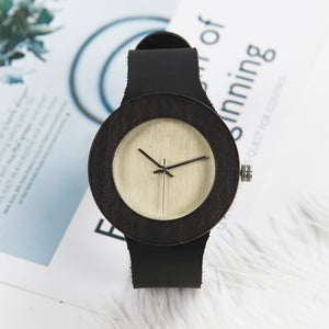 Sycamore - Woodtree Watches Personalised Wooden Watch