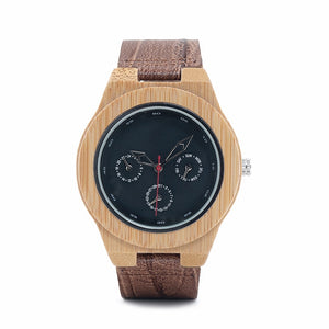 Quince - Woodtree Watches Personalised Wooden Watch