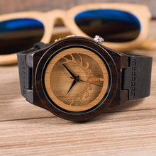 Ironwood - Woodtree Watches Personalised Wooden Watch