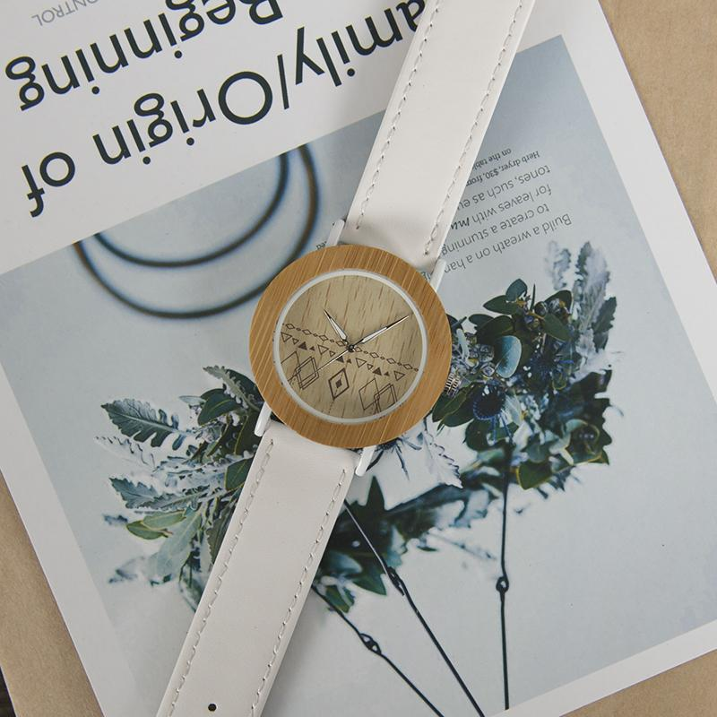 Magnolia - Woodtree Watches Personalised Wooden Watch