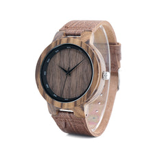 Privet - Woodtree Watches Personalised Wooden Watch