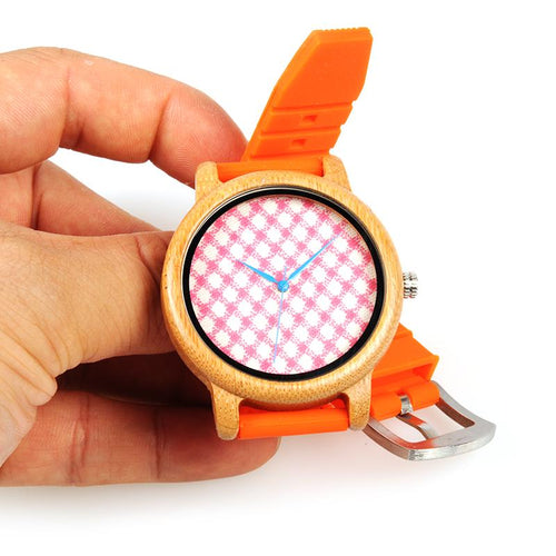 Tulipwood - Woodtree Watches Personalised Wooden Watch