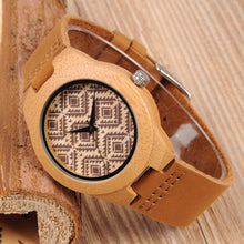 Kapok - Woodtree Watches Personalised Wooden Watch
