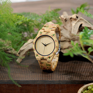 Rose - Woodtree Watches Personalised Wooden Watch