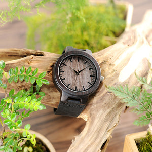 Neem - Woodtree Watches Personalised Wooden Watch