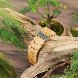 Arjun - Woodtree Watches Personalised Wooden Watch