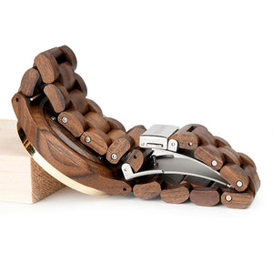 Camphor - Woodtree Watches Personalised Wooden Watch