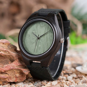 Moringa - Woodtree Watches Personalised Wooden Watch