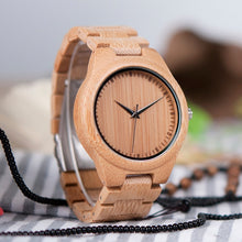 Macadamia - Woodtree Watches Personalised Wooden Watch