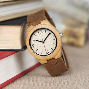 Conker - Woodtree Watches Personalised Wooden Watch