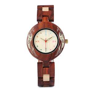Coconut - Woodtree Watches Personalised Wooden Watch