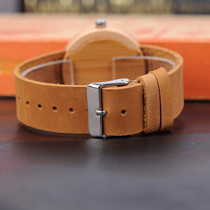 Banyan - Woodtree Watches Personalised Wooden Watch