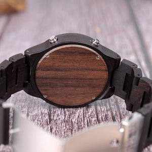 Wenge - Woodtree Watches Personalised Wooden Watch