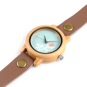 Syringa - Woodtree Watches Personalised Wooden Watch