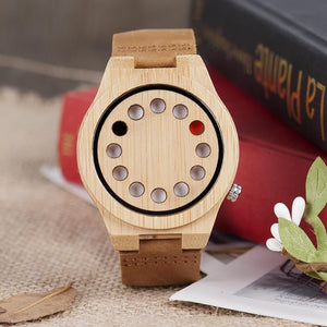 Acacia - Woodtree Watches Personalised Wooden Watch