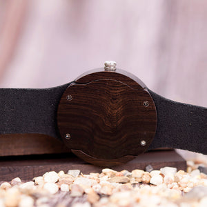 Persimmon - Woodtree Watches Personalised Wooden Watch