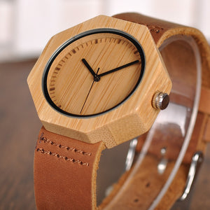 Cypress - Woodtree Watches Personalised Wooden Watch