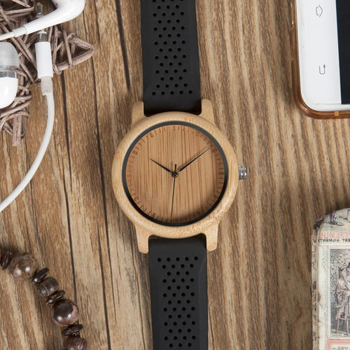 Acer - Woodtree Watches Personalised Wooden Watch