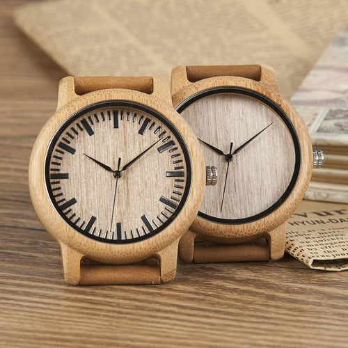 Katsura - Woodtree Watches Personalised Wooden Watch