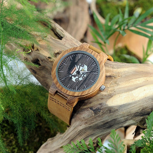 Fever - Woodtree Watches Personalised Wooden Watch