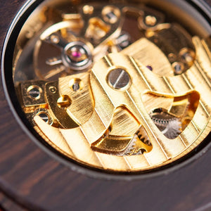 Yew - Woodtree Watches Personalised Wooden Watch
