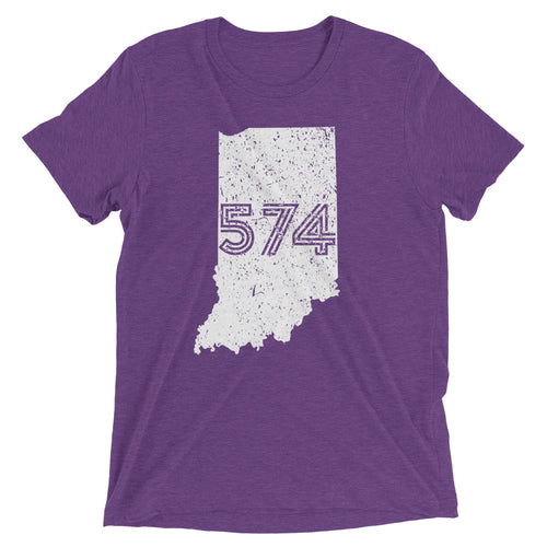 574 Area Code - Hoosier Threads