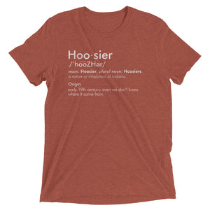 Definition of a Hoosier - Hoosier Threads